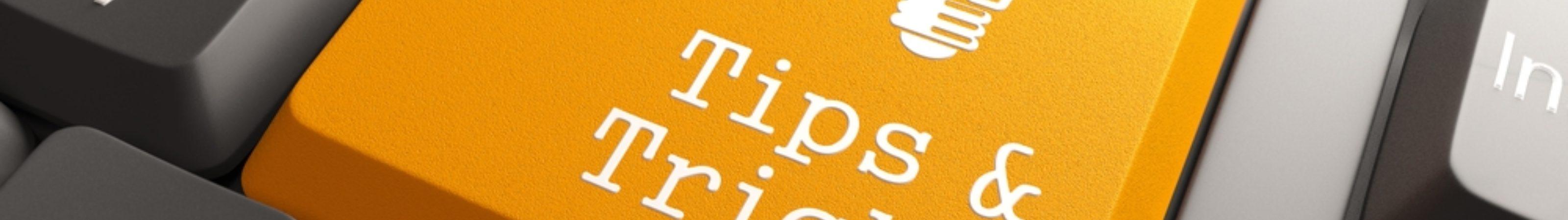 Tips En Tricks